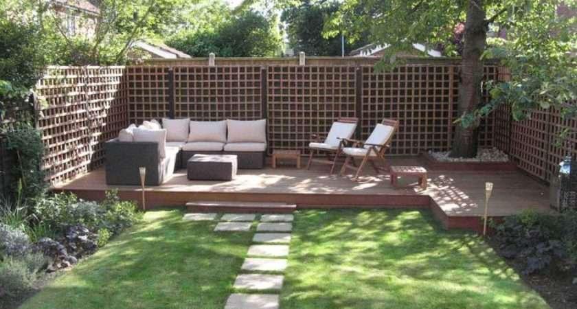 Narrow Small Yards Garden Design Backyard Gardens