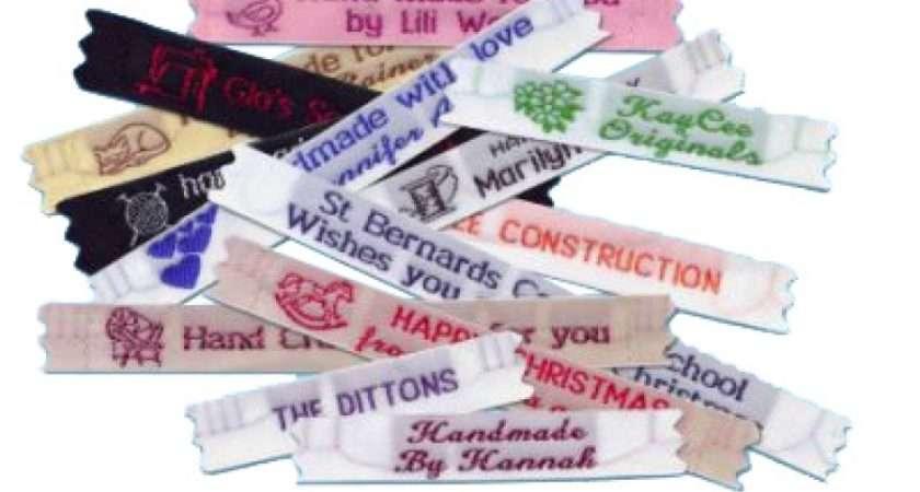 Narrow Woven Labels