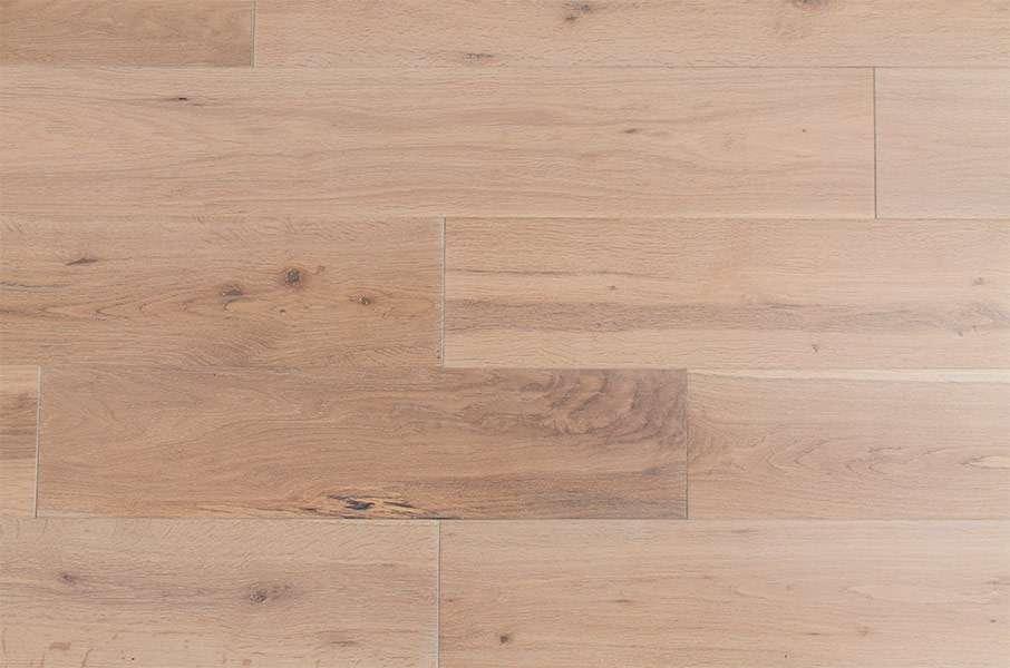 Natura White Washed Oak Solid Wood Flooring