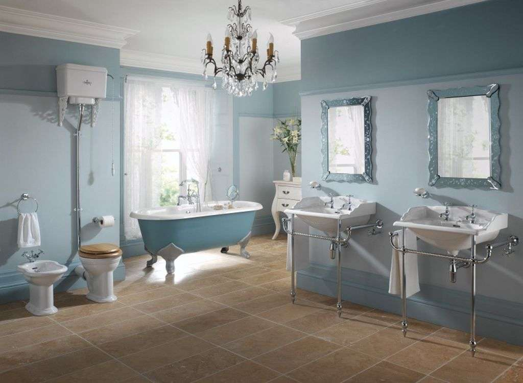 Natural Antiqueal Bathroom Decorating Ideas Listed