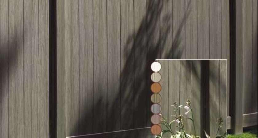 Natural Clay Chesterfield Certagrain Vinyl Fence