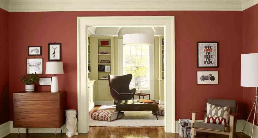Natural Living Room Wall Paint Ideas