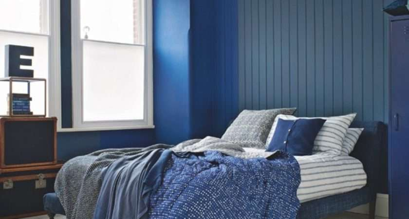 Navy Blue Gray Bedroom Decorating Ideas Home Delightful