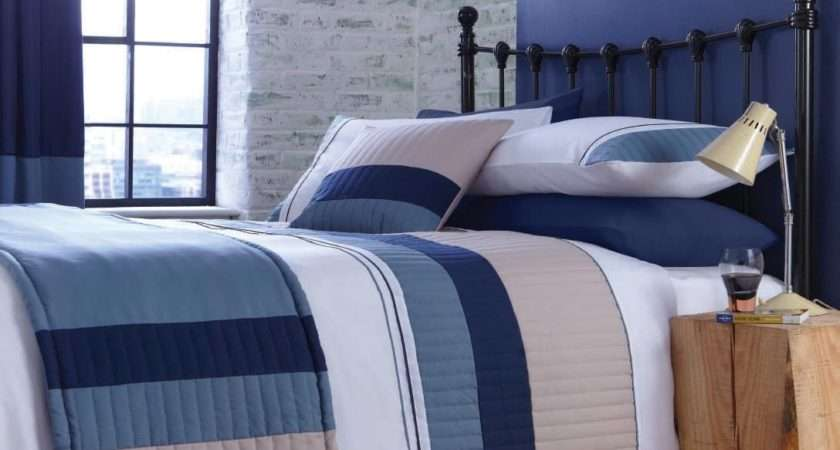 Navy Blue White Bedding Nautica Knots Bay