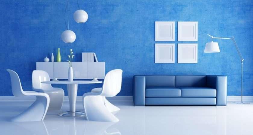 Navy Blue White Living Rooms Interiordecodir