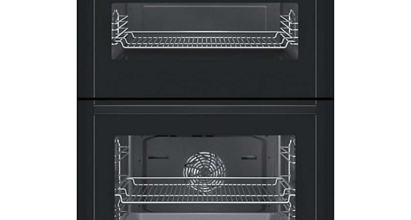 Neff Built Electric Double Oven Black