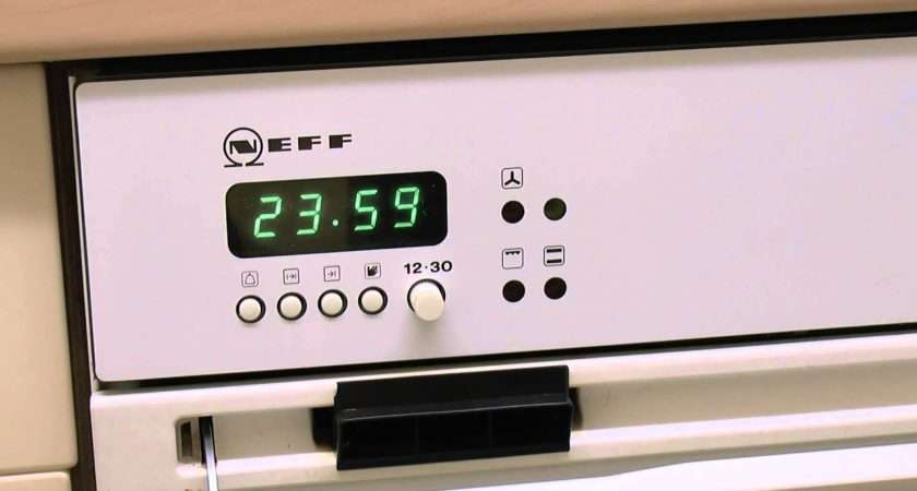 Neff Oven Clock Midnight Time Youtube