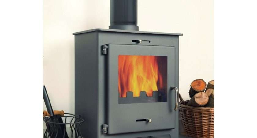 Nero Black Contemporary Woodburning Stove