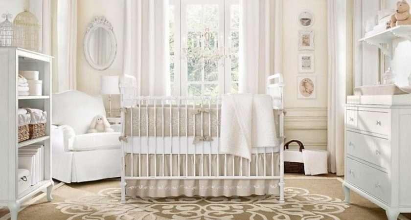 Neutral Color Baby Room Design Olpos