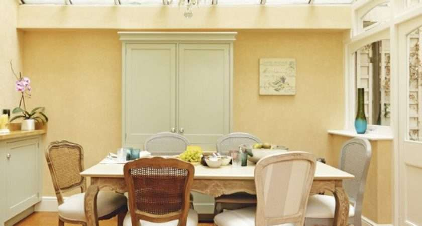 Neutral French Style Dining Room
