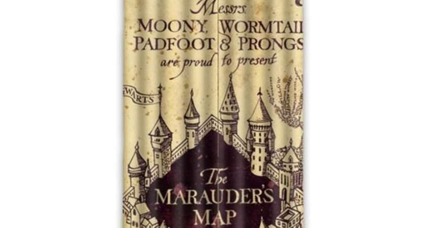 New Arrival Marauder Map Harry Potter Curtain Window