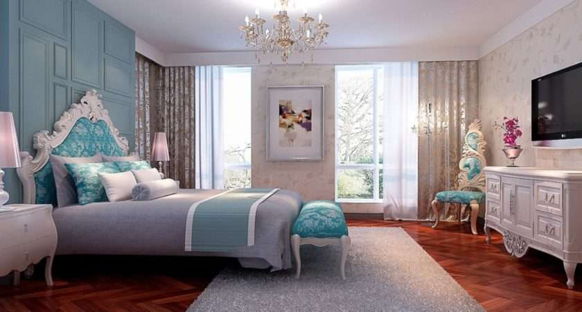 New Classical Bedroom Interior Design Women House