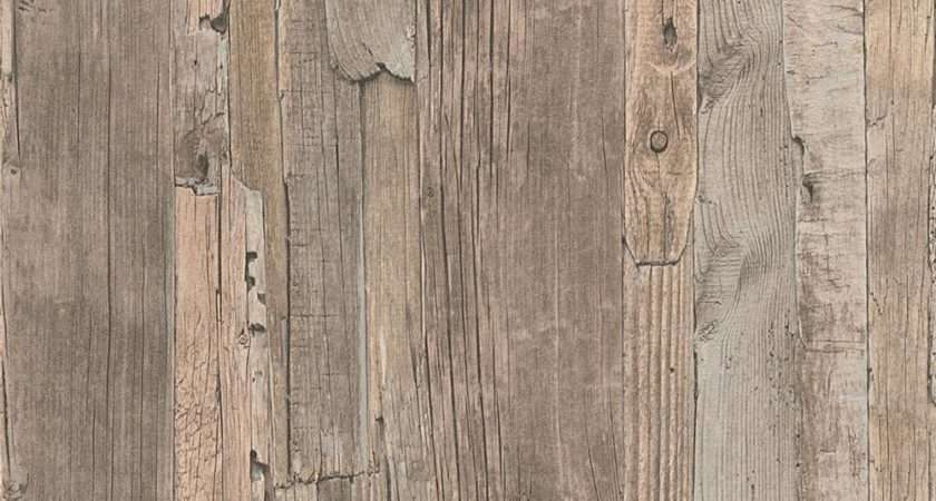 New Creation Distressed Driftwood Wood Panel Faux