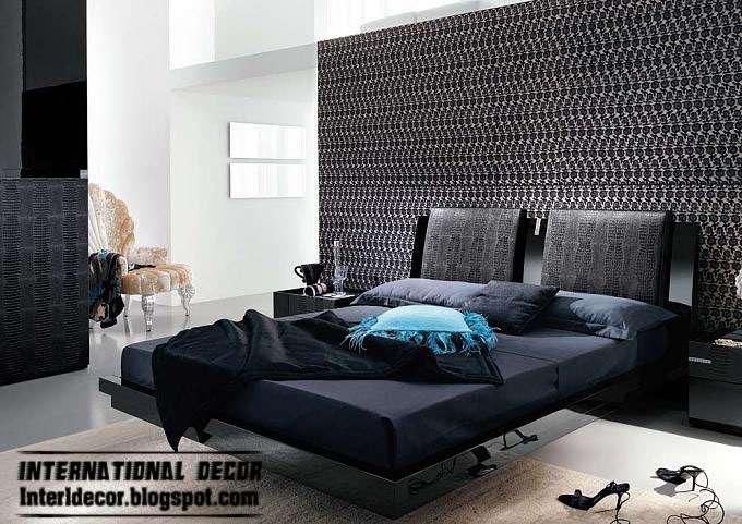 New Design Black White Bedroom Decoration