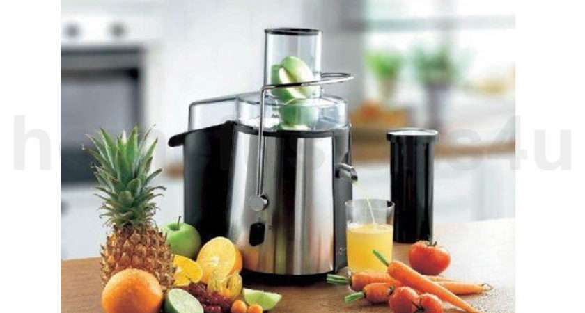 New Electric Whole Fruit Juicer Juice Maker Extractor
