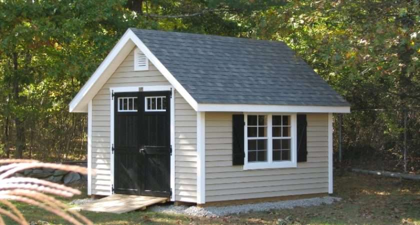 New England English Garden Sheds Amish Mike