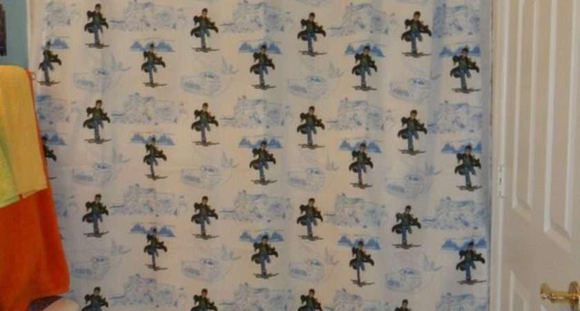 New Handmade Shower Curtain Made Harry Potter Bed Sheet