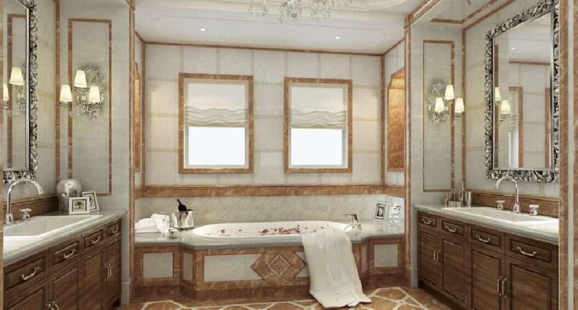 New Home Design Model Bathroom Neoclassical