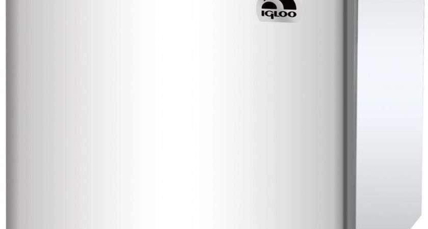 New Igloo Sleek White Under Counter Compact Mini Fridge