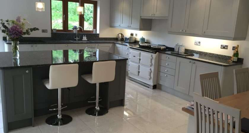 New Light Grey Kitchen Design Bishop Sutton Nailsea Electrical