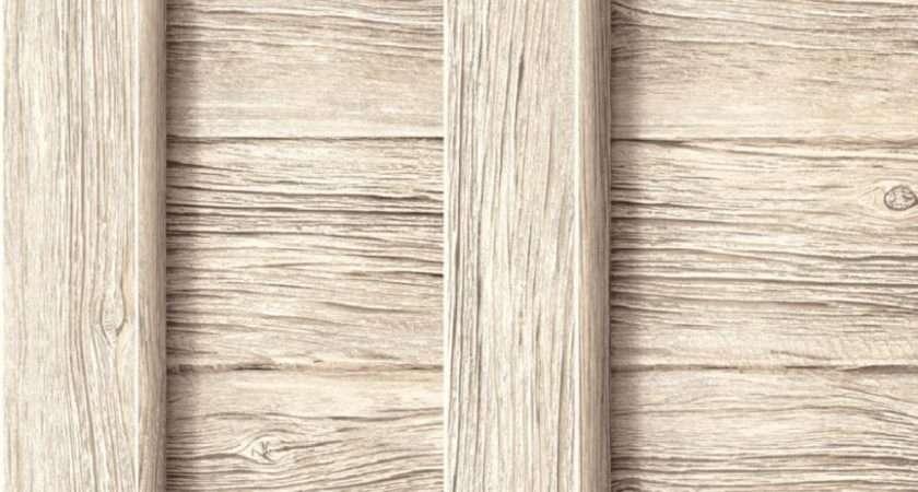 New Luxury Muriva Decorpassion Fence Beige Wood Panel