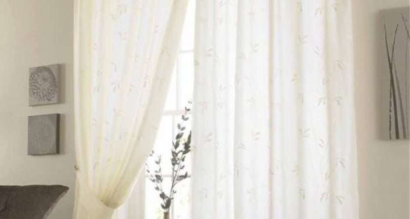 New Modern Voile Curtains Design Ideas
