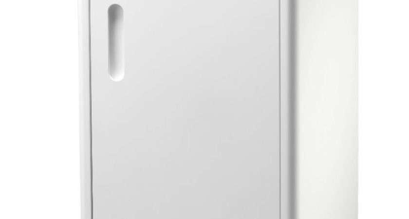 Newbury Single Freestanding White Bathroom Floor Cabinet