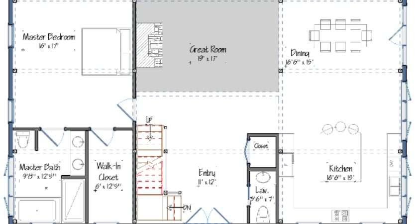 Newest Barn House Design Floor Plans Yankee