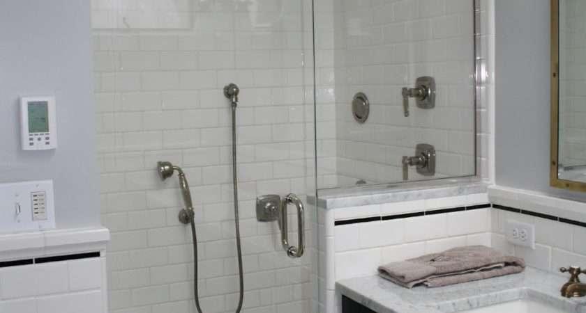 Nice Ideas Basketweave Bathroom Tile