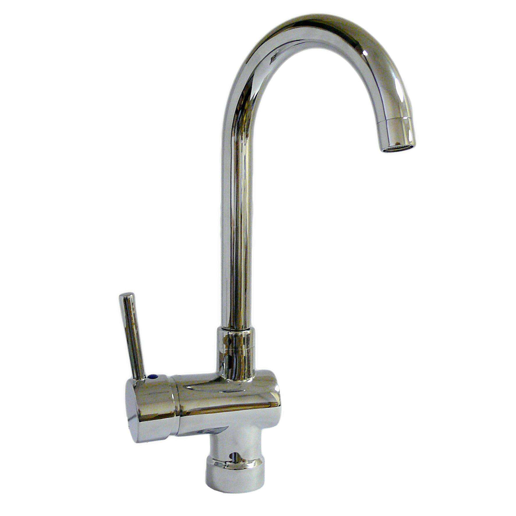 Nicosia Monoblock Kitchen Mixer Tap Themobilehomeshop ...