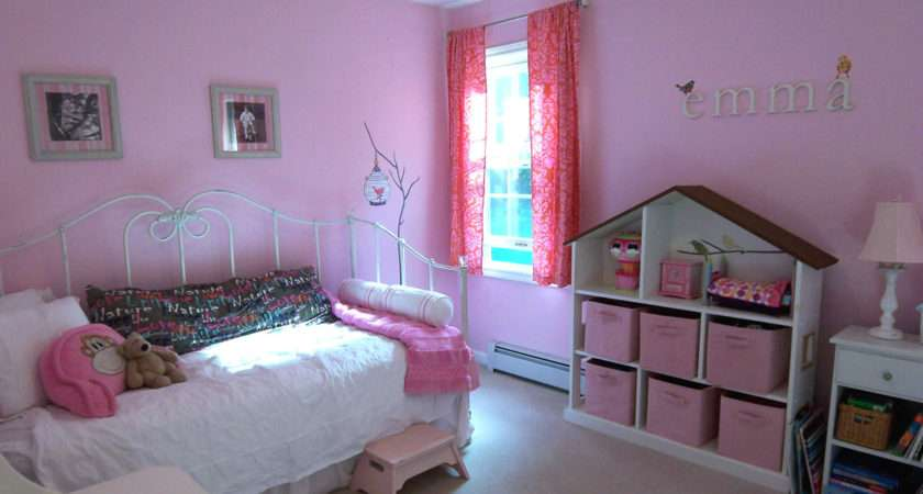 Non Princess Pink Room