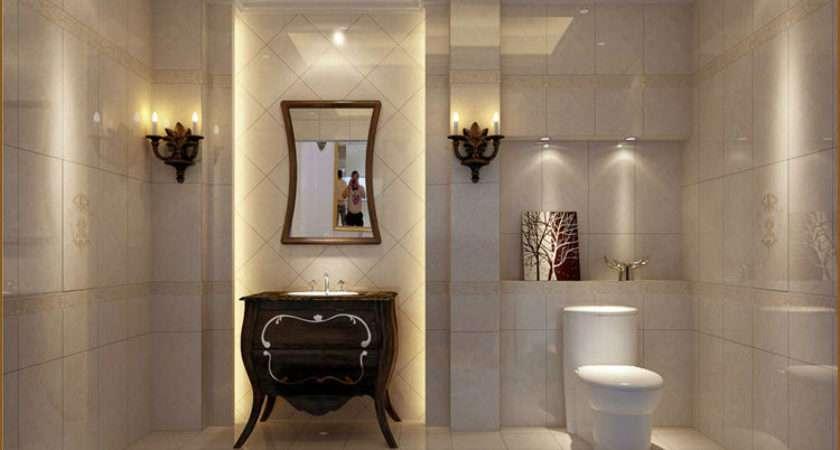 Non Slip Floor Bathroom Ceramic Tiles Decorative Wall