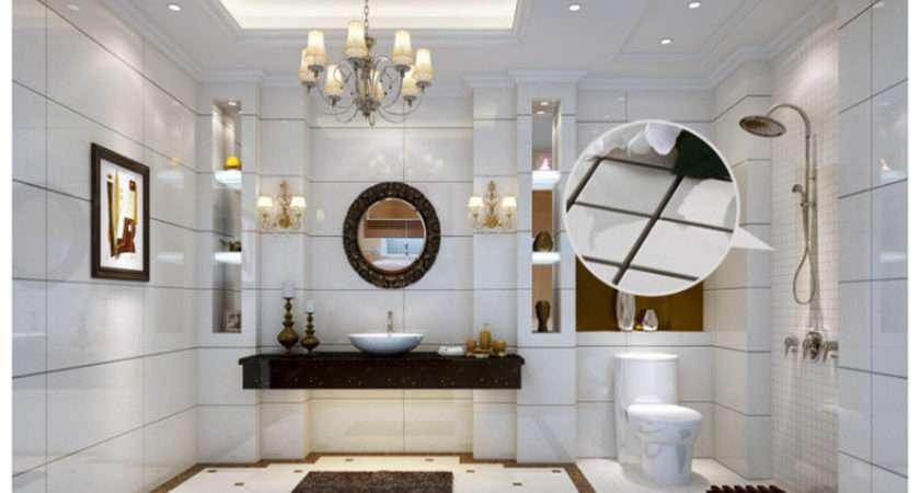 Non Slip Pure White Ceramic Floor Wall Tile