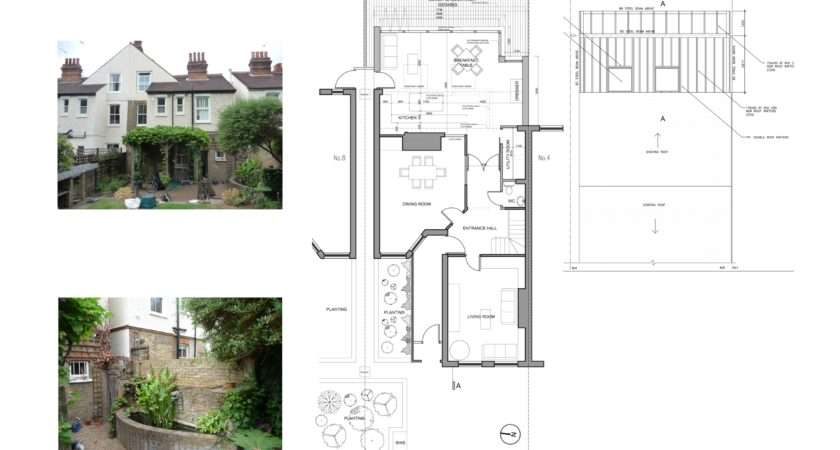 Norbiton Kingston Rear House Extension Design Floor Plans