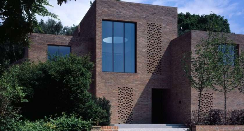 North London House Covered Bricks Inside Out