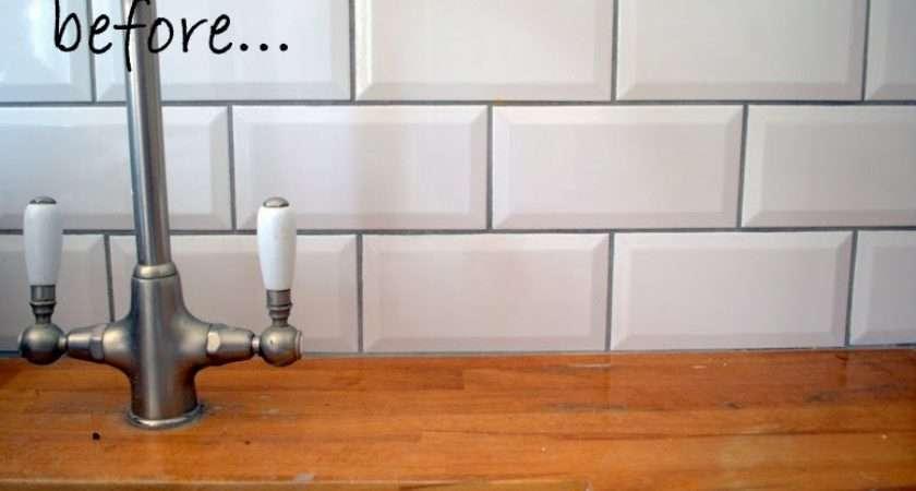 Nostalgiecat Resurface Wooden Kitchen Worktop