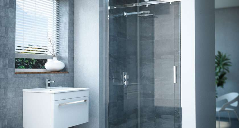 Nova Frameless Sliding Shower Door Victorian Plumbing