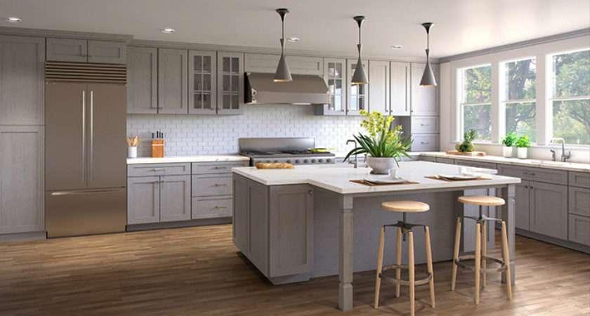 Nova Light Grey Shaker Kitchen Cabinets