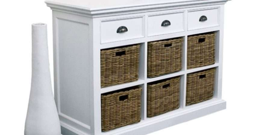 Nova White Painted Furniture Dining Room Sideboard