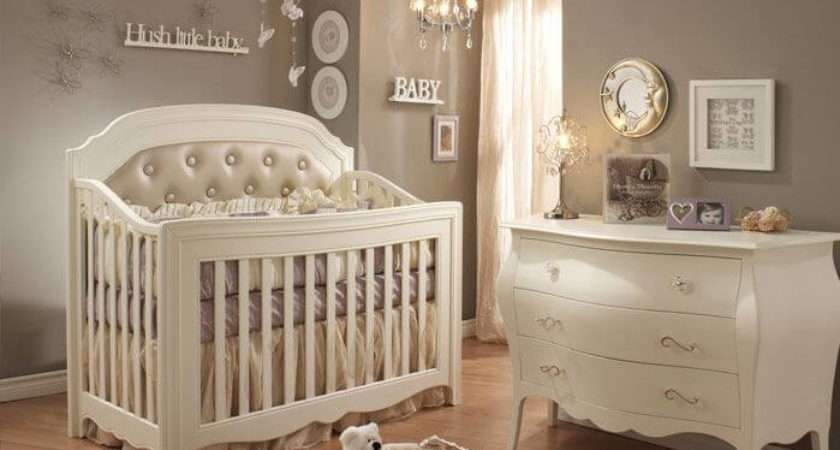 Nursery Splashes Neutral Beige White Tones Over Natural