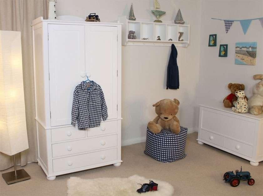 Nutkin Childrens Double Wardrobe Drawer