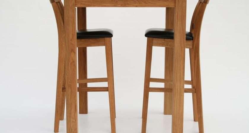 Oak Bar Stools Kitchen Tall Breakfast
