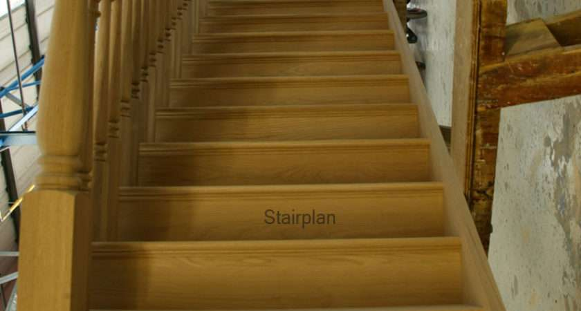 Oak Cut String Staircase Staircases
