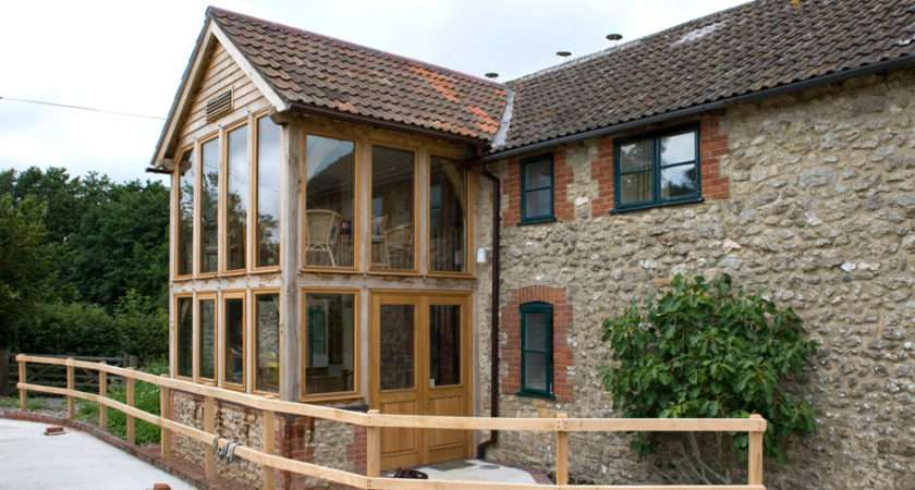 Oak Framed Garden Rooms Extensions Townsend Timber