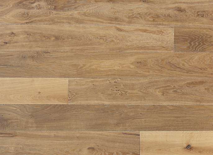 Oak Wide Plank Engineered Prefinished Wood Flooring Gothic Oil Finish
