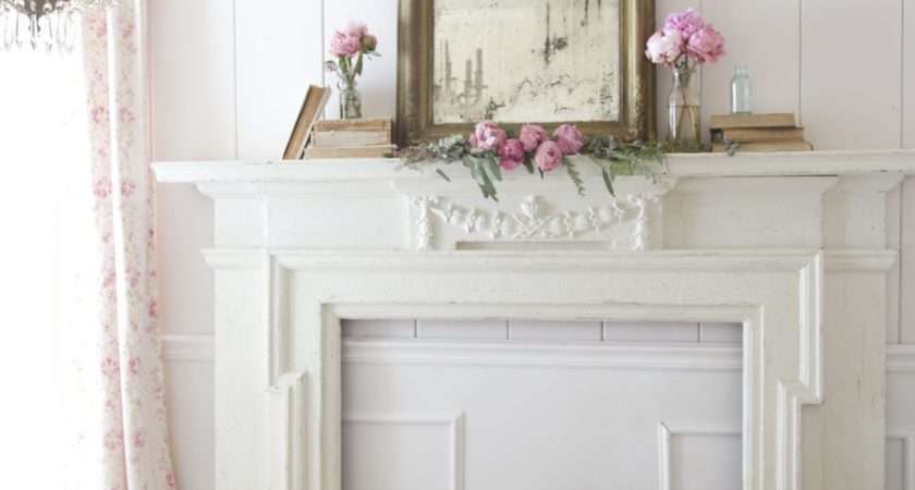 Obsessions Simple Mantel Styling French Country Cottage