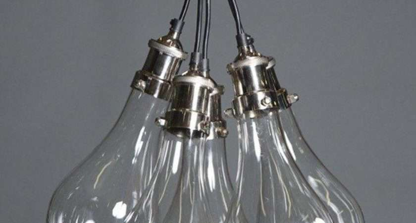 Odean Cluster Glass Pendant Light Chic Chandeliers