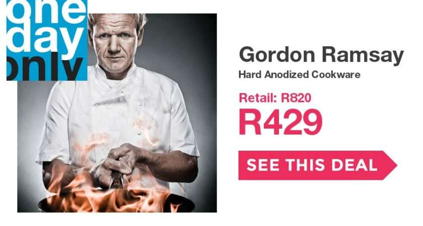Off Gordon Ramsay Hard Anodized Cookware Onedayonly