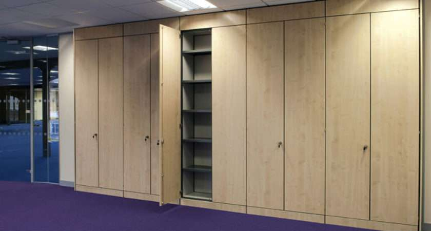 Office Partitioning Storage Walls Suspended