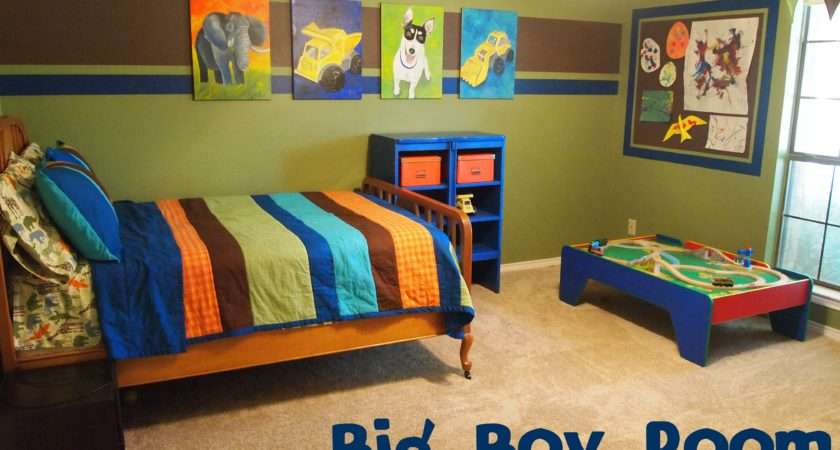 Ofgreen Color Wall Paint Decorating Boys Room